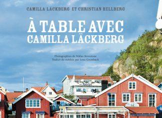 A table avec Camilla Lackberg - Camilla LACKBERG et Christian HELLBERG