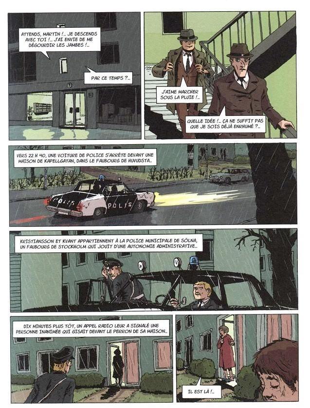 Maj SJOWALL Per WAHLOO, Roger SEITER et Martin VIOT - Le Policier qui rit (pl1)