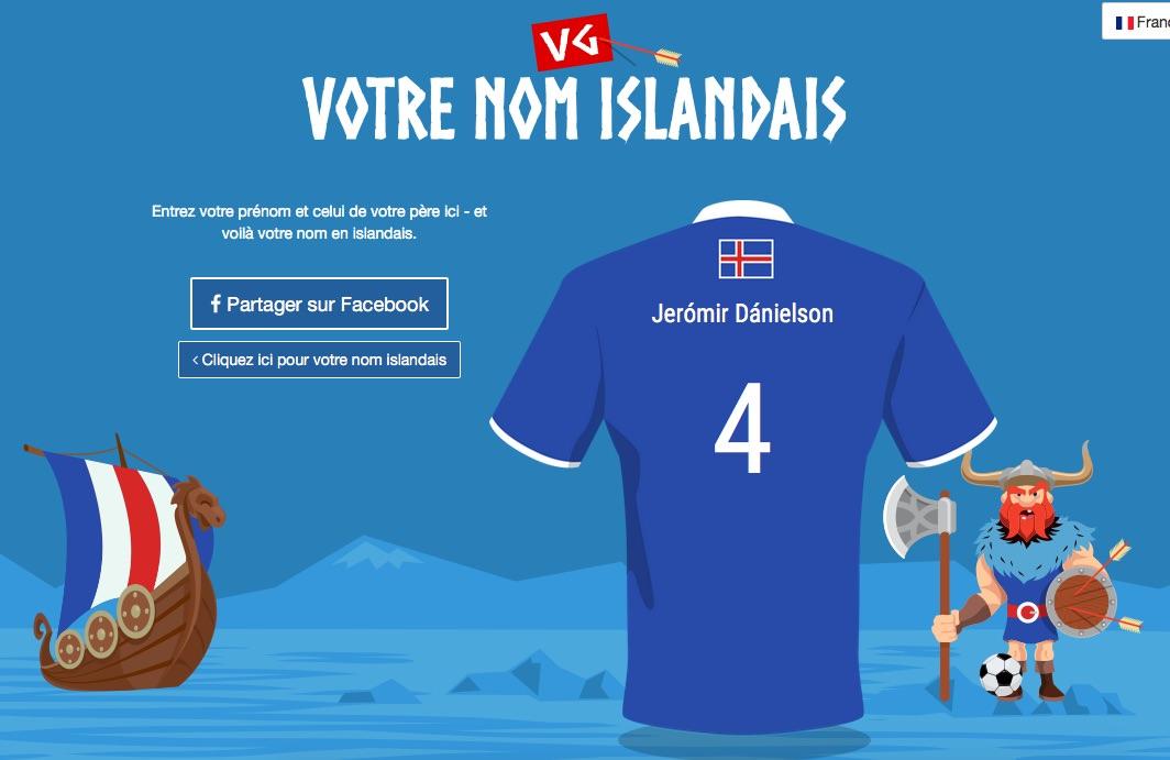 Prenom en islandais