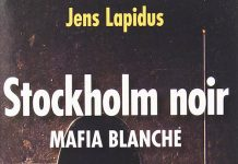 Stockholm Noir - jens lapidus