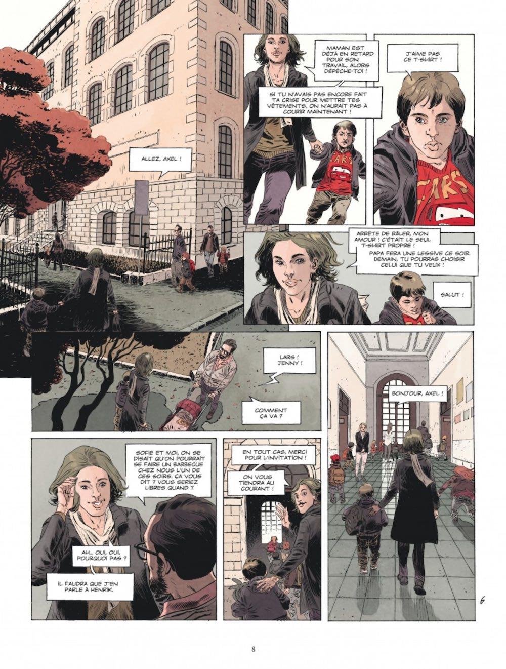 Sylvain RUNBERG et Joan URGELL - Trahie (pl1)