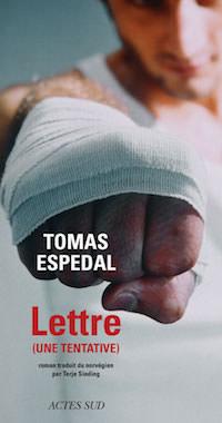 Tomas ESPEDAL - Lettre