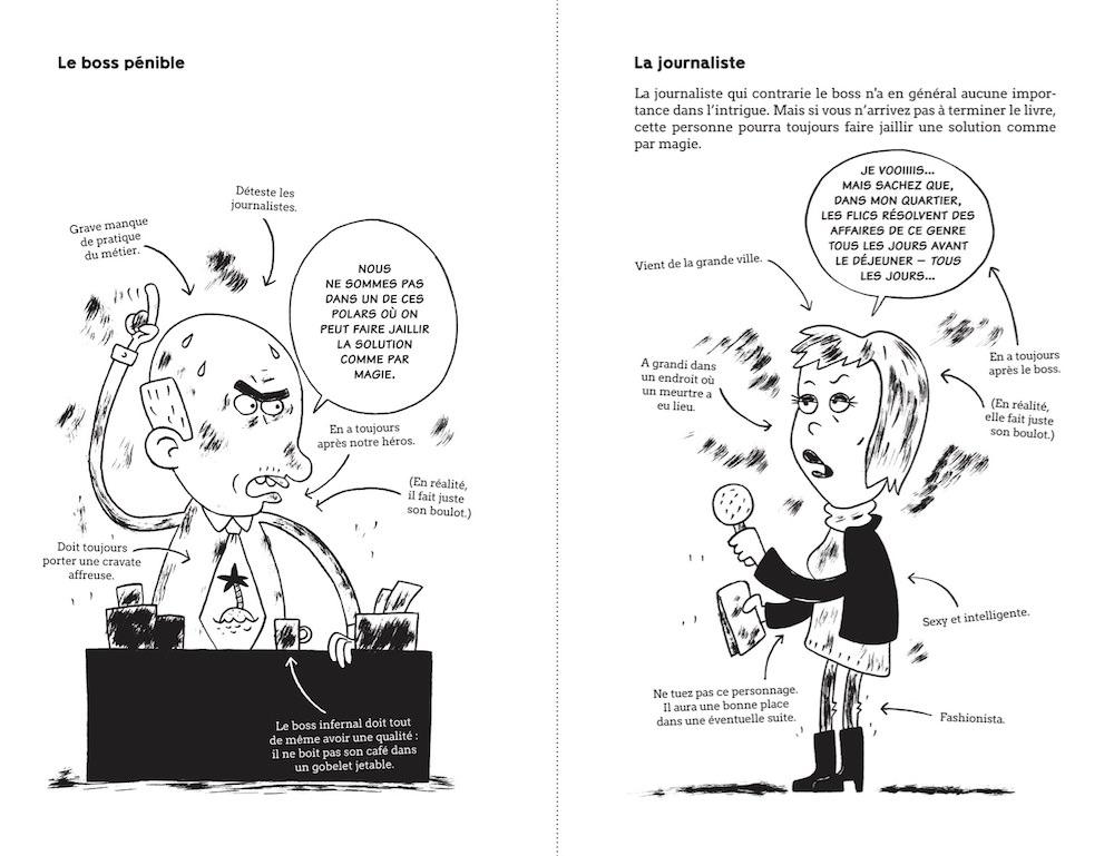 Henrik LANGE - Comment ecrire un polar suedois sans se fatiguer (pl2)