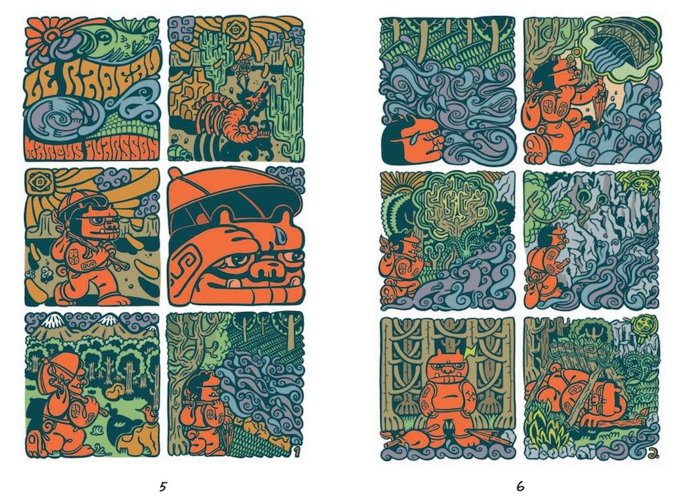 Rayon frais - Une anthologie suedoise de la bande dessinee (pl3)