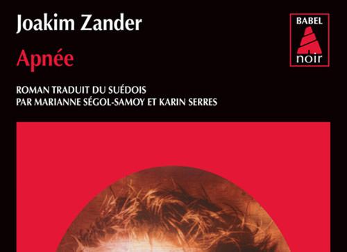 Joakim ZANDER : Apnée