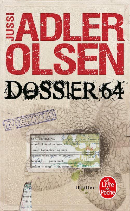 Jussi ADLER-OLSEN - departement V - Tome 4 - Dossier 64