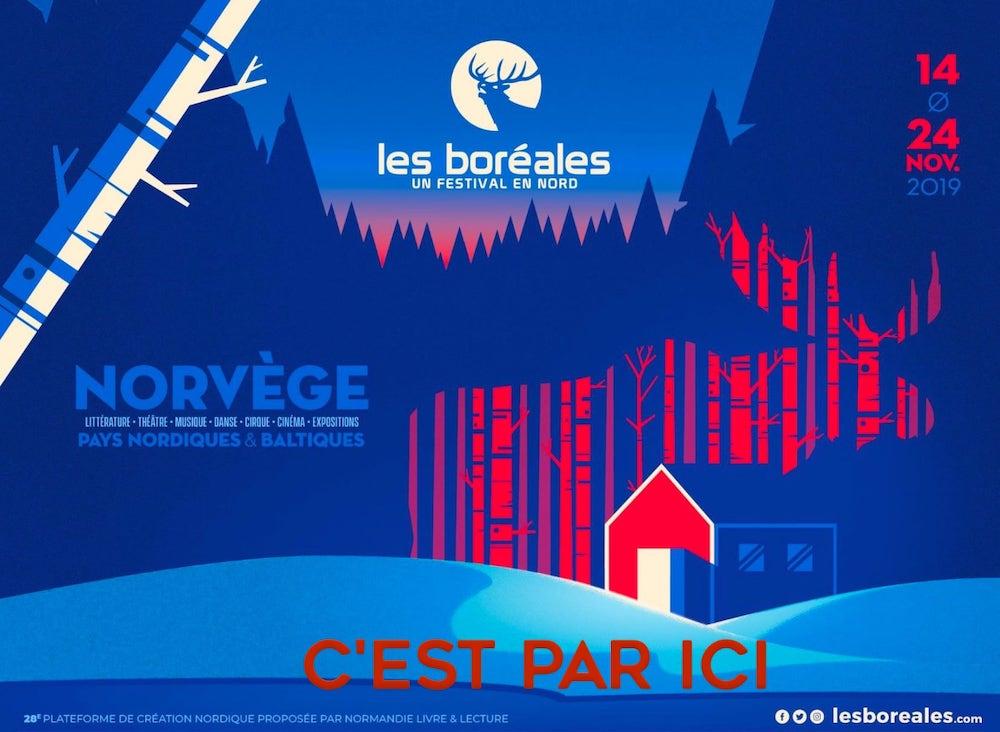 Affiche Boreales 2019
