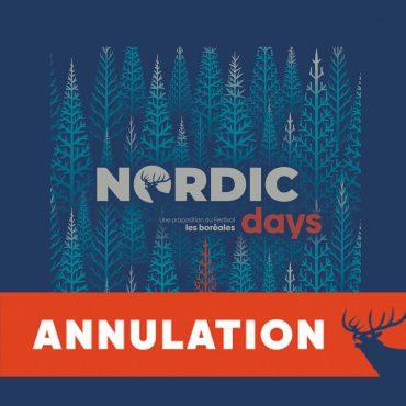 Nordic Days annulation 2020