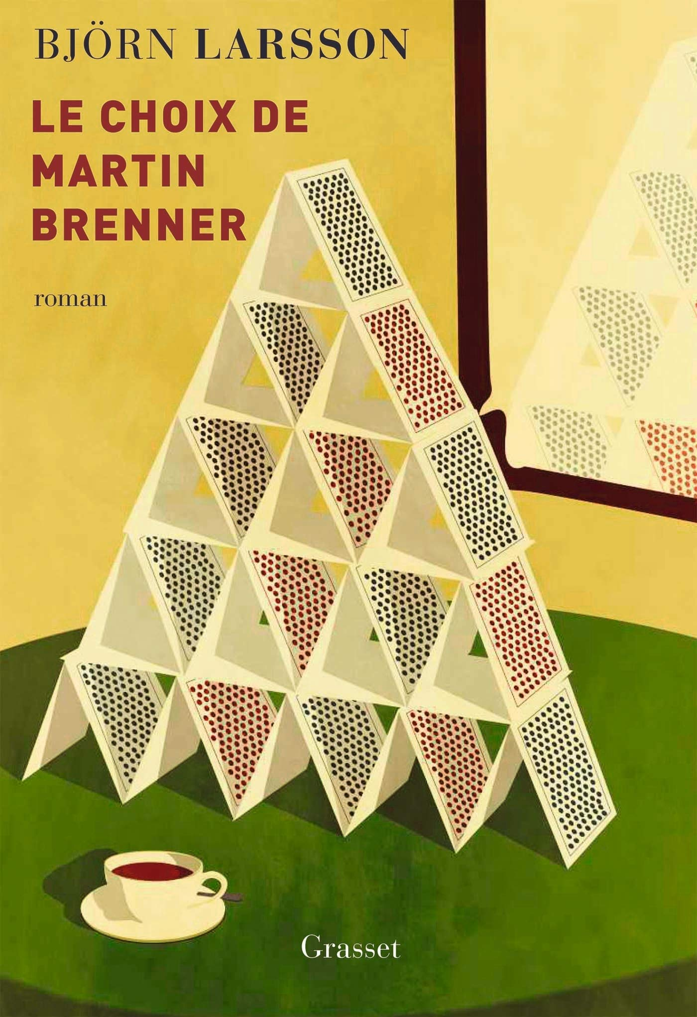 Björn LARSSON : Le choix de Martin Brenner